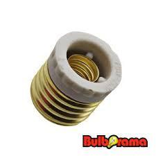 medium e26 to intermediate e17 socket adapter industrial grade