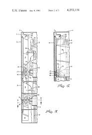 Hon File Cabinet Lock Replacement Instructions by Patent Us4272138 Cabinet Drawer Anti Tip Lock Device Google