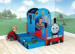 thomas the tank engine and friends feature toddler bed with