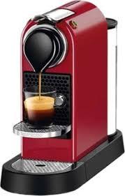 Nespresso CitiZ Cherry Red Coffee Machine