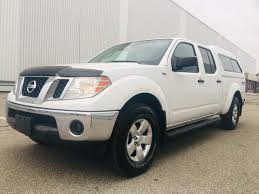100 Nissan Frontier Truck Cap Used 2010 SE Crew 4WD For Sale In Mississauga