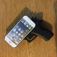 Hot New 3d Iphone 5 5c 5s Cases Fashion Gun Hard Case Pink