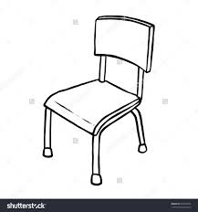 Black And White Chair Clip Art Beach Wedding Clipground Furniture Clipart