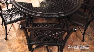 Gensun Patio Furniture Florence by Gensun Grand Terrace Patio Furniture Overview Youtube