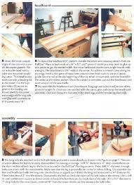 Queen Size Waterbed Headboards by Queen Size Bed Plans U2022 Woodarchivist