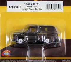 100 1955 Ford Panel Truck Athearn 187 HO F100 UPS 29419 EBay