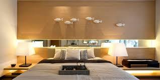 coole deko ideen schlafzimmer mit spiegel und moderne