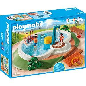 Playmobil 9422 Family Fun Swimming Pool Set