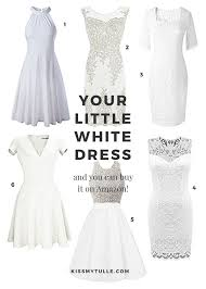 Find Your LWD Little White Dress On Amazon