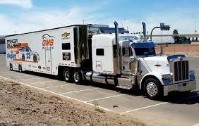 100 Jayski Trucks Peterbilt Hauler Transporter Chevrolet GMS Racing NASCAR