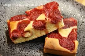 les petites douceurs de cricri recette gateau aux fraises et aux
