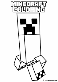 New Minecraft Coloring Pages 80 With Additional For Kids Online