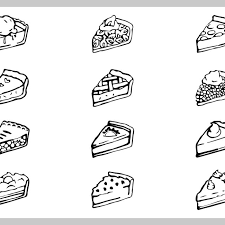 Free vector Free apple pie illustration set 6456