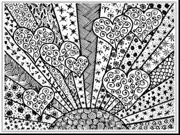 Superb Adult Coloring Pages Hearts With Adults And