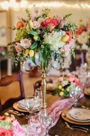 Romantic Floral Wedding Centerpiece