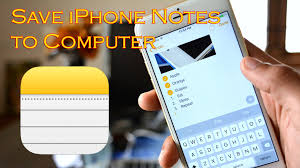 TIPS] Best Way to Save iPhone Notes to puter