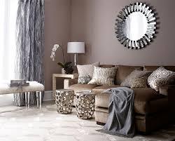 bilder brown couches wohnzimmer dekoration ideen