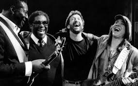 Albert King BB Eric Clapton Stevie Ray Vaughan 1987