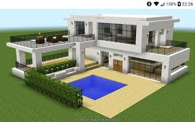 100 Design Ideas For Houses Modern Minecraft House For Android APK Download