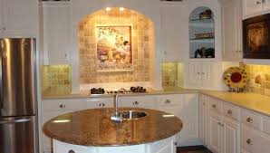 White Kitchen Design Ideas 2014 by Functional And Beautiful Kitchen With Round Kitchen Island U2014 Smith