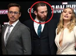 Capitan America Chris Evans Fue Captado Mirando El Escote De Elizabeth Olsen