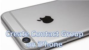 How to Create a Contact Group on iPhone