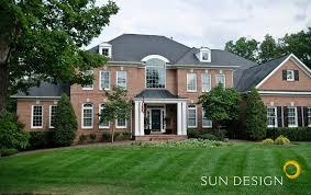 100 Split Level Curb Appeal Exterior Home Design Portfolio Northern VA Sun Design