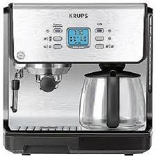 Krups XP2070 15 Bar Pump Espresso Machine Photo Pressure Brew Coffee Makers
