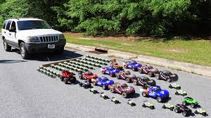 100 Sabinas Cars And Trucks How Many Toy Does It Take To Pull A Real Car YouTube