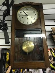 100 Mauthe Reloj De Pared De 3 Cuerdas Aleman Gran Soneria 880000