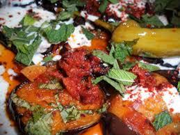 gebratene auberginen afghanische