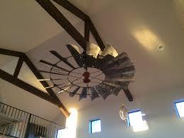 Belt Driven Ceiling Fan Motor by 8 U0027 Reproduction Vintage Windmill Ceiling Fan Wcftx Windmill