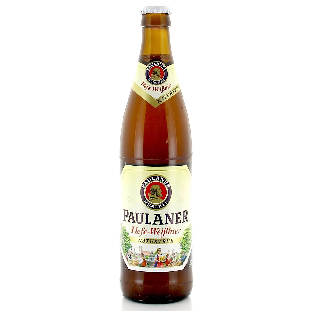 Paulaner Hefe-Weissbier Wheat Beer - 500ml