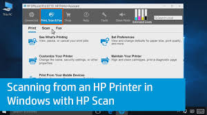 Hp Printer Help Desk by Scanning From An Hp Printer In Windows With Hp Scan Youtube