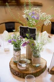 Rustic Wedding Decorations Alluring 4e98a7eebe4eaded3accc7f93001c541 Centerpieces Purple
