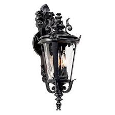 bellagio 16 1 2 high downbridge outdoor wall light 46910