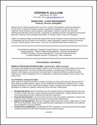 Marketing Resume Template Free Awesome Templates Sample Examples Customer
