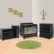 da vinci 3 piece nursery set kalani mini crib 4 drawer dresser