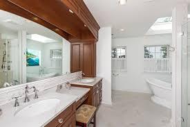 Bathroom Makeup Vanity Height by Custom Vanity Bathroom Cabinetry Design Line Kitchens In Sea