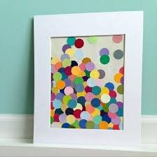 Homemade Paper Picture Frame Ideas Polka Dot Photo Crafts Craft Handmade For