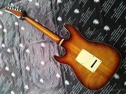 Gutar Elektrik Hamiltone Stratocaster SRV Stevie Ray Vaughan