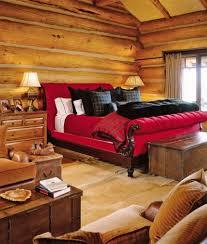 schlafzimmer in rot gestalten ideen