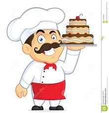 Chocolate Cake clipart cake chef 1