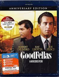 100 Blu Home Video Amazoncom GoodFellas Ray By Warner Robert De