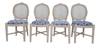 Vintage Faux Bois & Cane Back Dining Chairs - Set Of 4 Set Of Four Ethan Allen Cane Back Ding Chairs Ebth Chair Fniture Outlet Atlanta Fair Eastgate Row Spokane Room French Provincial Cane Back Ding Chairs Thomasville Room Ideas Eight Mid Century Modern S8 Milo Baughman New Fabric Chrome Pair Vintage French Country Arm 2 Ideas On For Sale Au Uk Pwick Antiques English And Montgomery Alabama Fishmag