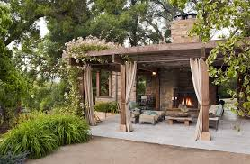 outdoor curtains walmart patio rustic with stone fireplace pellet