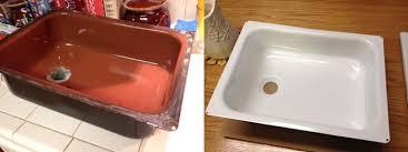 re porcelaining your vintage trailer stove or sink