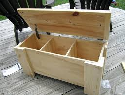 diy outdoor storage bench seat plans build storage bench window