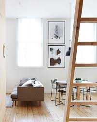 Home Design: Wood Apartment Ladder - Small Apartment With Full ... Awesome Ladder Ideas In Home Design Contemporary Interior Compact Staircase Designs Staircases For Tight Es Of Stairs Inside House Best Small On Simple Fniture Using Straight Wooden And Neat Pating Fold Down Attic Halfway Open Comfy Space Library Bookshelf Images Amazing Step Shelves Curihouseorg Spectacular White Metal Spiral With Foot Modern Pictures Solutions