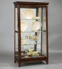 Pulaski Glass Panel Display Cabinet by Pulaski Silver Dollar Curio Cabinet 21326 Lowest Price Online